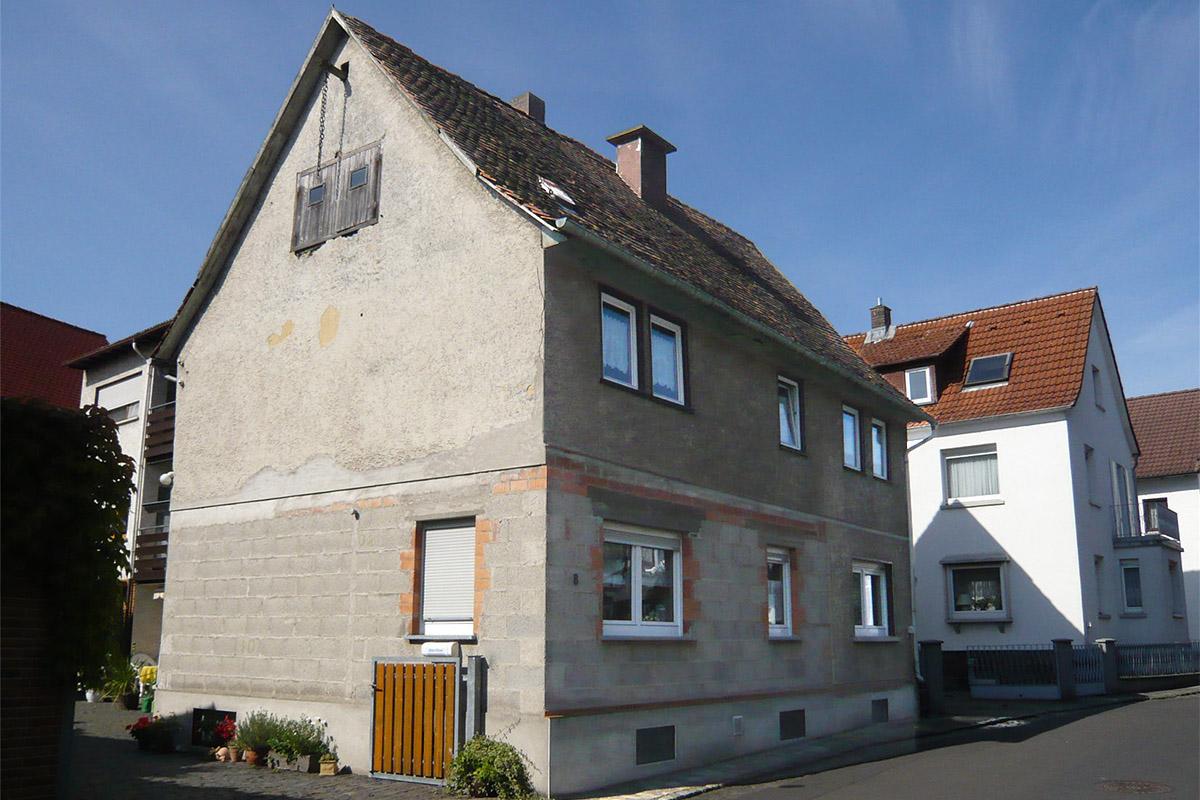 Aufstockung Mit Balkon Und Gaube Hessenhaus